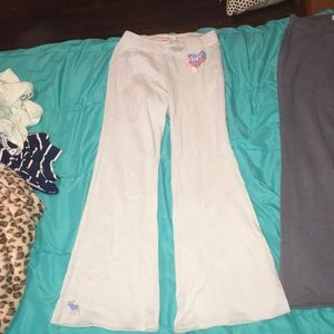Abercrombie sweat pants